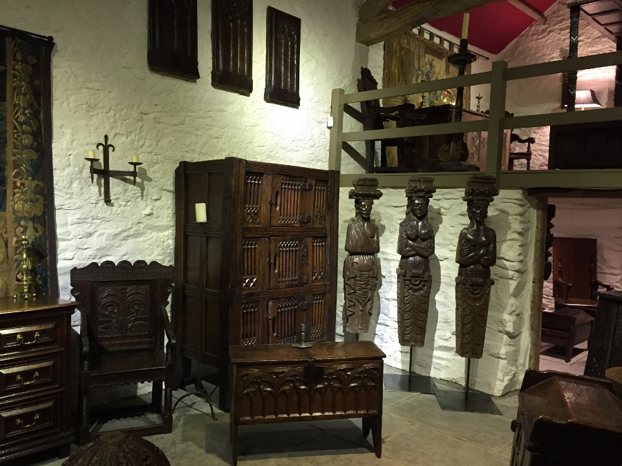 Early Oak Furniture and Works of Art