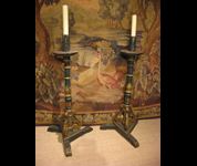 Buy 17th Century candlesticks at Period Oak Antiques