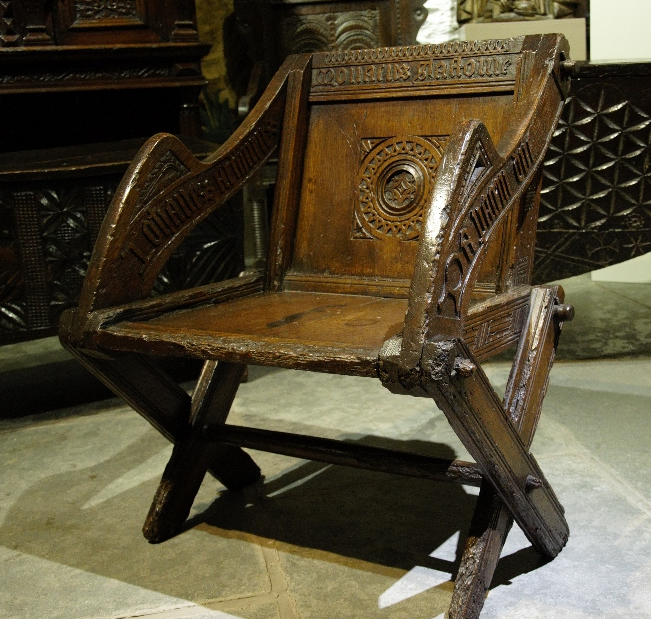 More frequently our collection of Antique Oak Chairs includes single chairs  such as an extremely rare and undiscovered late 16th century glastonbury  type ... - Find The Best Antique Oak Chairs : Period Oak Antiques In Cumbria
