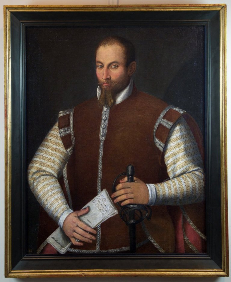 A 16TH CENTURY FLORENTINE SCHOOL PORTRAIT OF PIERANTONIO PEROTTI. CIRCA 1560.