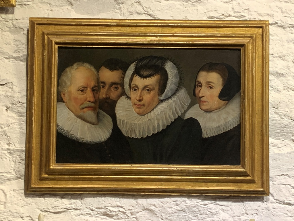 AN EARLY 17TH CENTURY FAMILY PORTRAIT OF ERIC DIMMER AND FAMILY. CIRCA 1620. ATTRIBUTED TO MICHIEL JANSZ VAN MIEREVELDT.